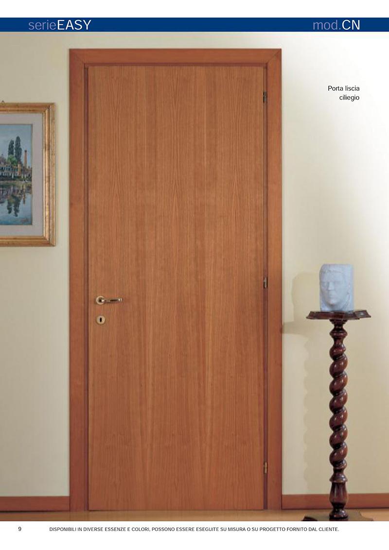 Porte Interne Color Ciliegio mondial plast infissi, porte interne in legno