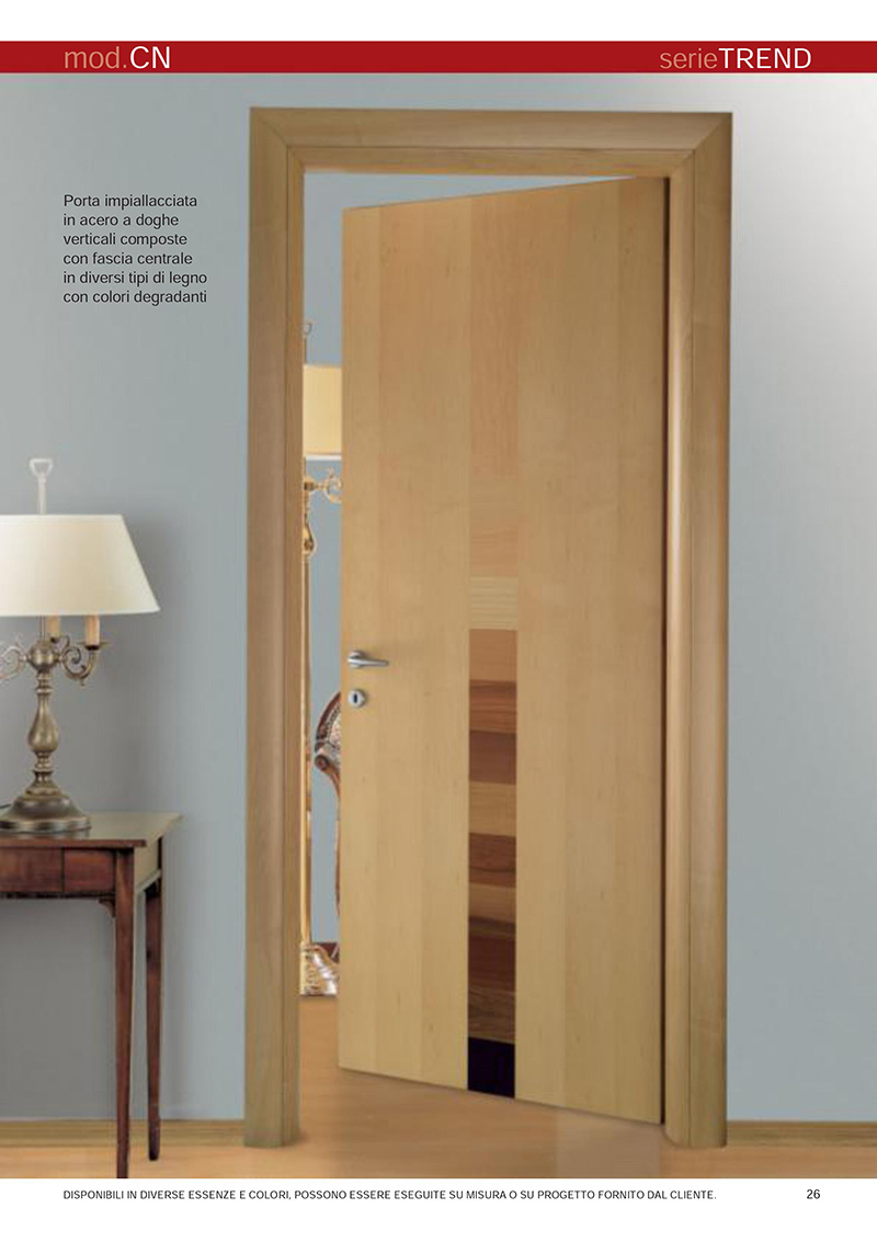 Good evoluti sistemi di lavorazione e accurate finiture - Colori per porte ...